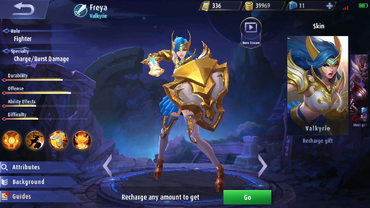 freya in shop