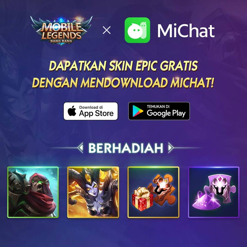 Mobile Legend X MiChat Event